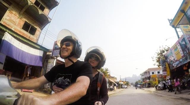 On Th Motorbike