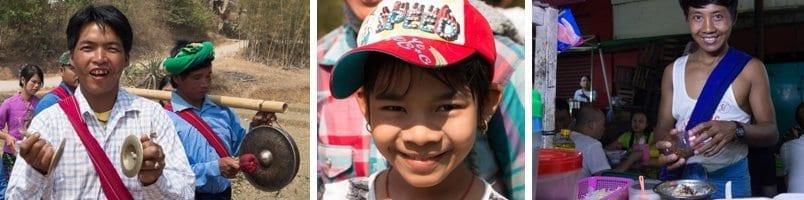 The smiling people of Myanmar