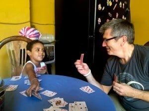 Cards with Kid
